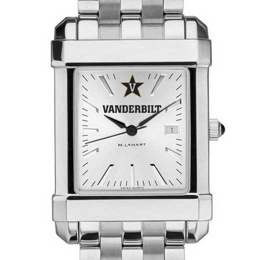 615789254379: Vanderbilt Men's Collegiate Watch w/ Bracelet