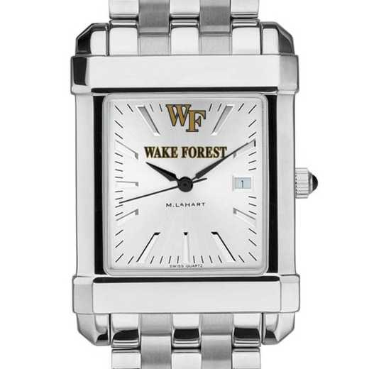 615789703457: Wake Forest Men's Collegiate Watch w/ Bracelet
