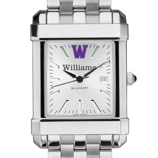 615789091004: Williams College Men's Collegiate Watch w/ Bracelet