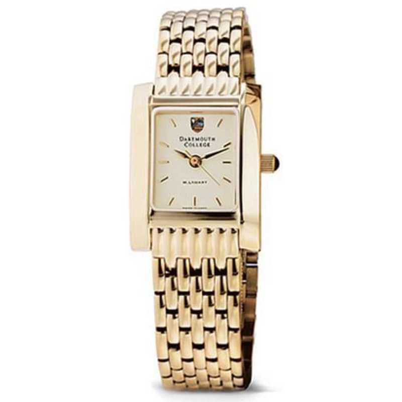 615789324669: Dartmouth Women's Gold Quad Watch with Bracelet
