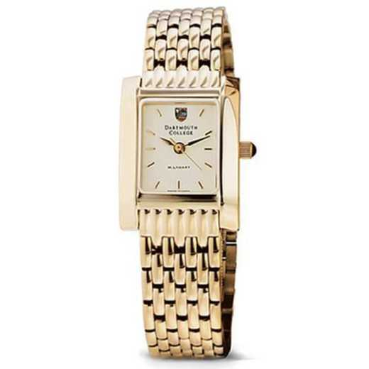 615789324669: Dartmouth Women's Gold Quad Watch with Bracelet