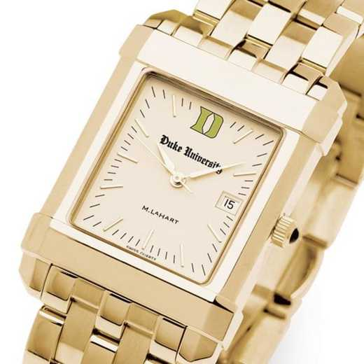615789238010: Duke Men's Gold Quad Watch with Bracelet