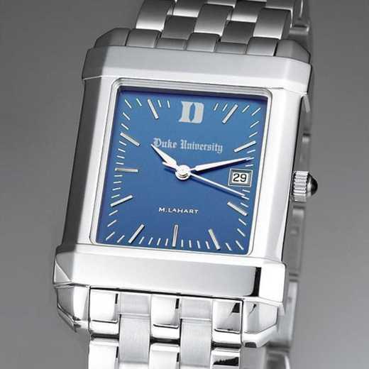 615789442493: Duke Men's Blue Quad Watch with Bracelet