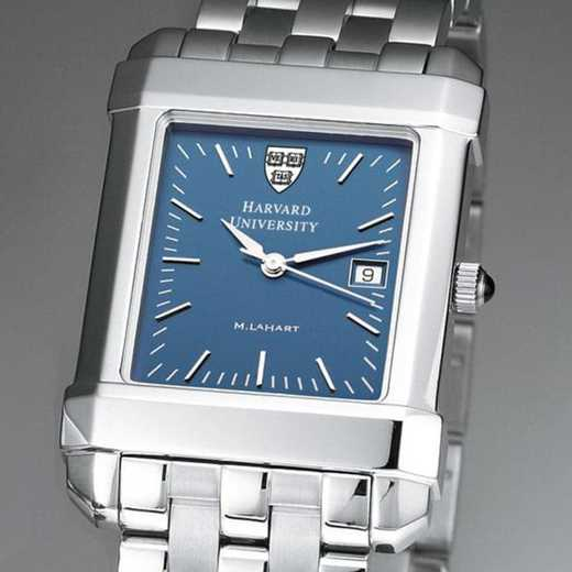 615789410126: Harvard Men's Blue Quad Watch with Bracelet