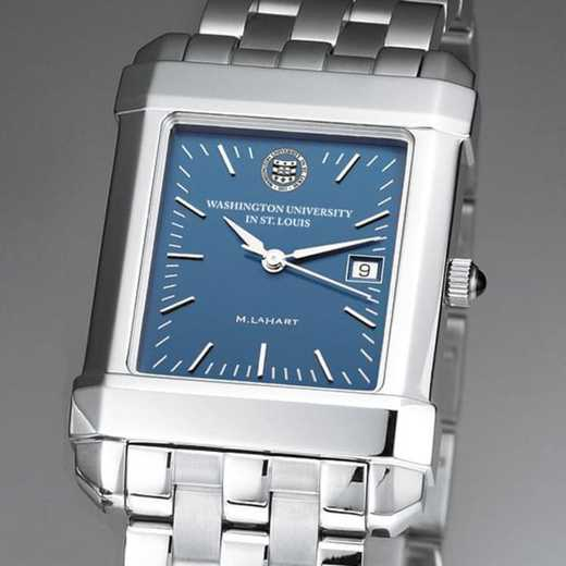 615789330301: WUSTL Men's Blue Quad Watch with Bracelet