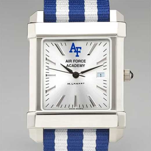 615789565291: US Air Force Academy Collegiate Watch W/NATO Strap for Men