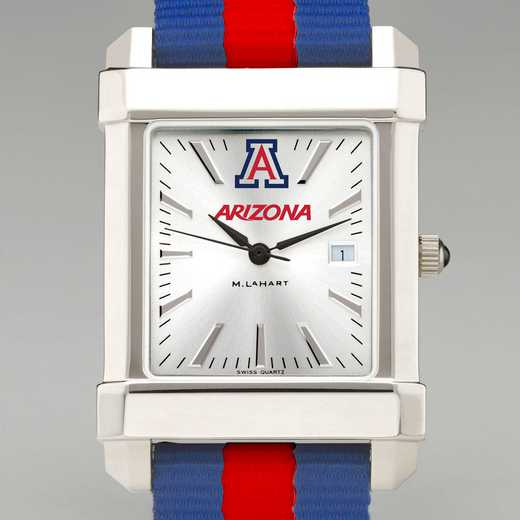 615789158516: Univ of Arizona Collegiate Watch W/NATO Strap for Men