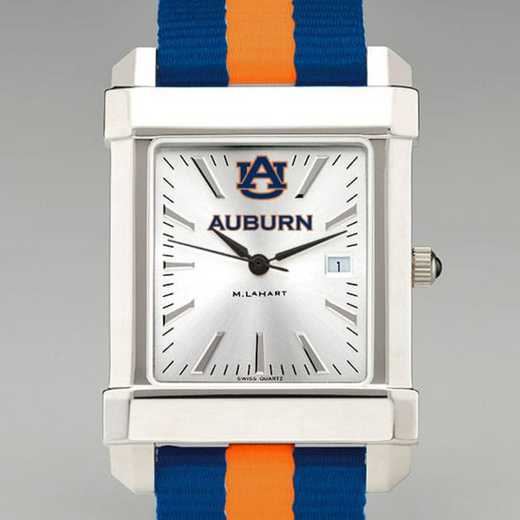615789894940: Auburn Univ Collegiate Watch W/NATO Strap for Men