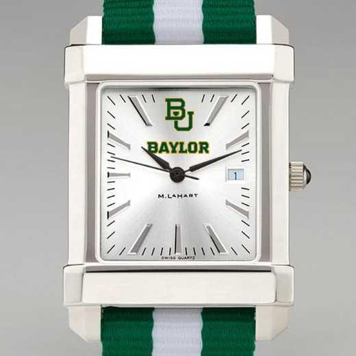 615789272946: Baylor Univ Collegiate Watch W/NATO Strap for Men