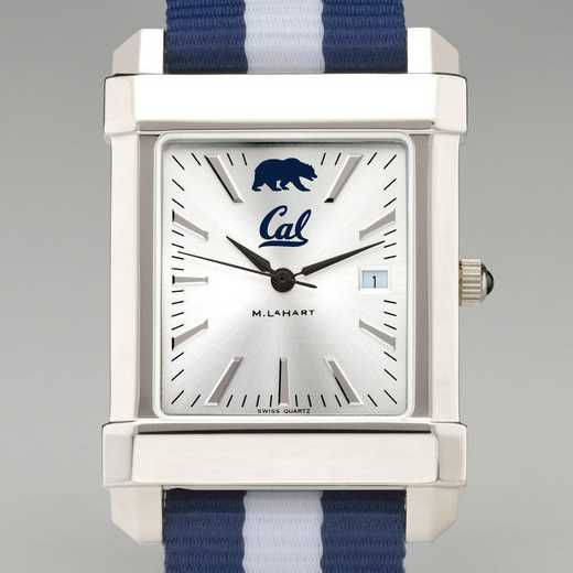 615789757559: Berkeley Collegiate Watch W/NATO Strap for Men