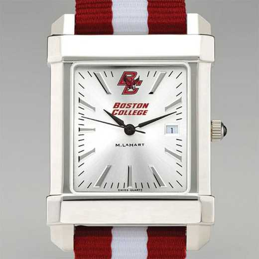 615789846895: Boston College Collegiate Watch W/NATO Strap for Men