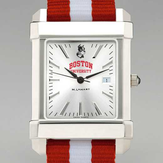 615789929949: Boston Univ Collegiate Watch W/NATO Strap for Men