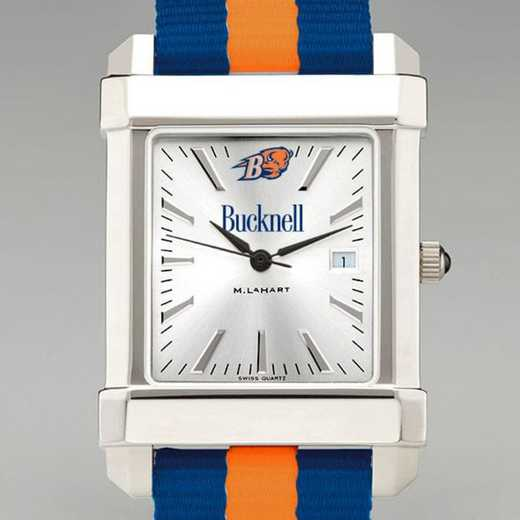 615789956938: Bucknell Univ Collegiate Watch W/NATO Strap for Men