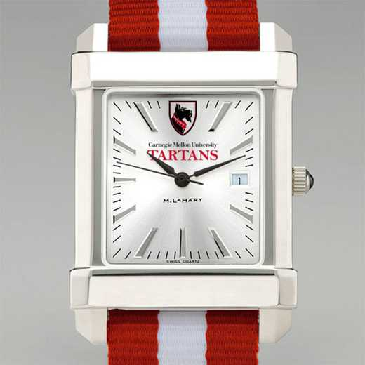 615789905639: Carnegie Mellon Univ Collegiate Watch W/NATO Strap for Men