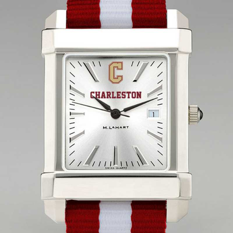 615789666974: College of Charleston Collegiate Watch W/NATO Strap for Men