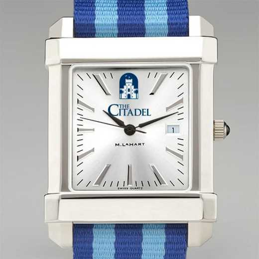 615789056225: Citadel Collegiate Watch W/NATO Strap for Men