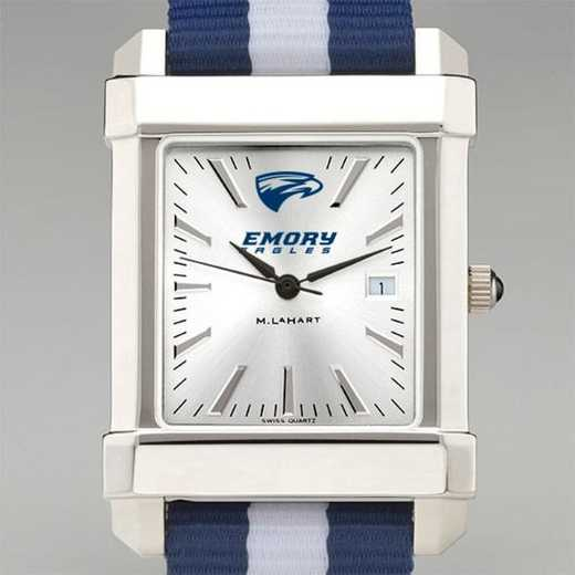 615789631415: Emory Univ Collegiate Watch W/NATO Strap for Men