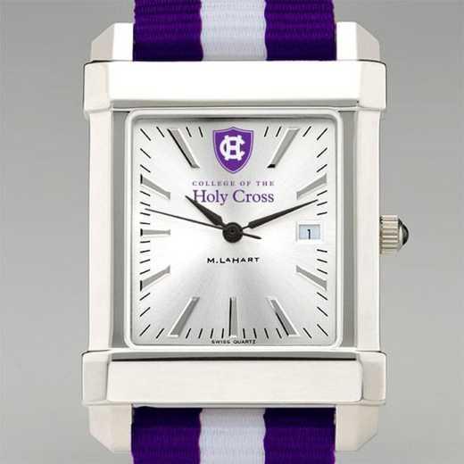615789102656: Holy Cross Collegiate Watch W/NATO Strap for Men