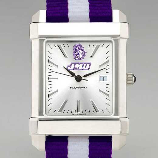 615789556497: James Madison Univ Collegiate Watch W/NATO Strap for Men