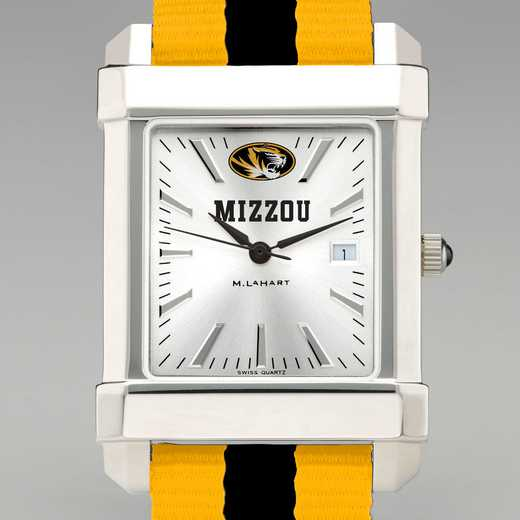 615789019343: Univ of Missouri Collegiate Watch W/NATO Strap for Men