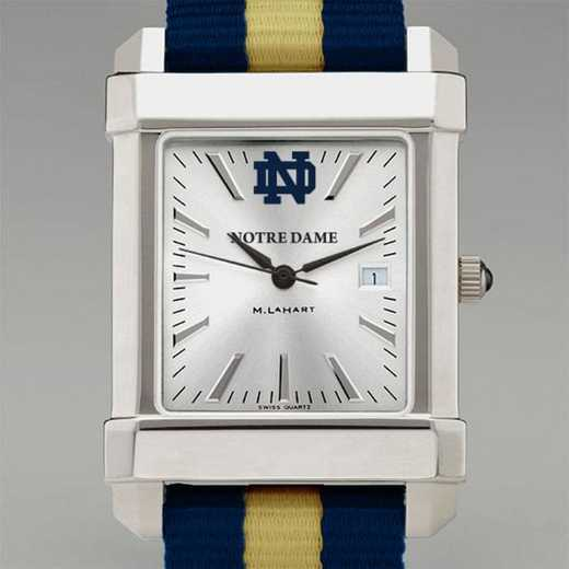 615789356806: Univ of Notre Dame Collegiate Watch W/NATO Strap for Men