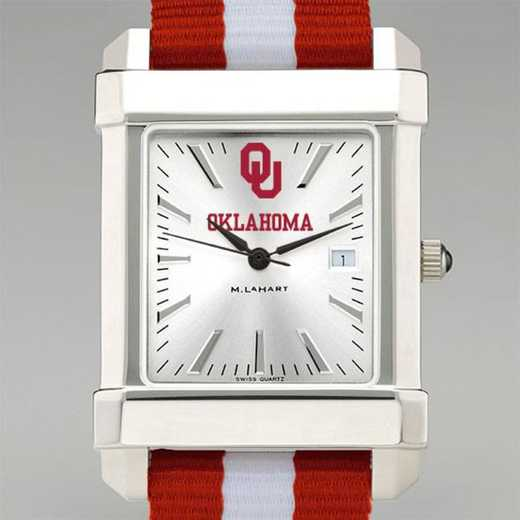 615789740599: Univ of Oklahoma Collegiate Watch W/NATO Strap for Men