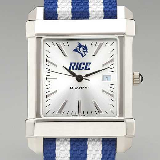 615789839538: Rice Univ Collegiate Watch W/NATO Strap for Men