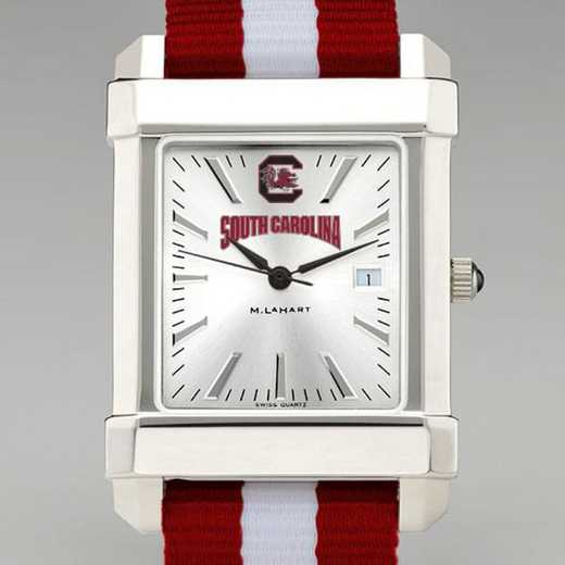 615789748878: Univ of South Carolina Collegiate Watch W/NATO Strap