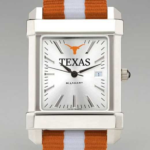 615789568421: Univ of Texas Collegiate Watch W/NATO Strap for Men