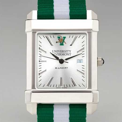 615789218470: Univ of Vermont Collegiate Watch W/NATO Strap for Men
