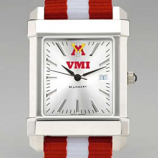 615789760627: Virginia Military Institute Collegiate Watch W/NATO Strap