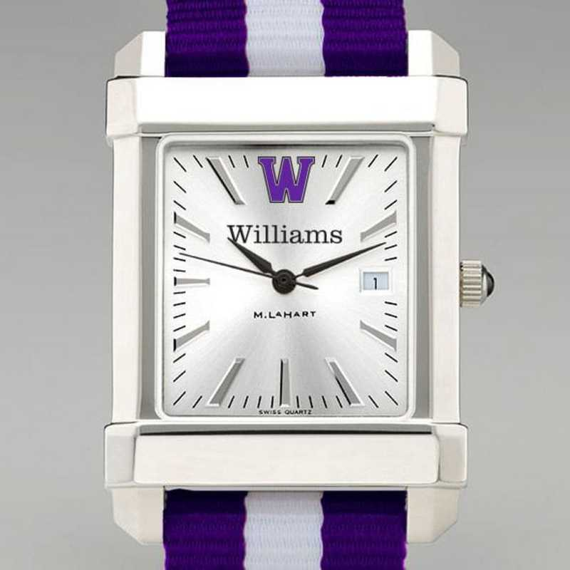 615789350781: Williams College Collegiate Watch W/NATO Strap for Men