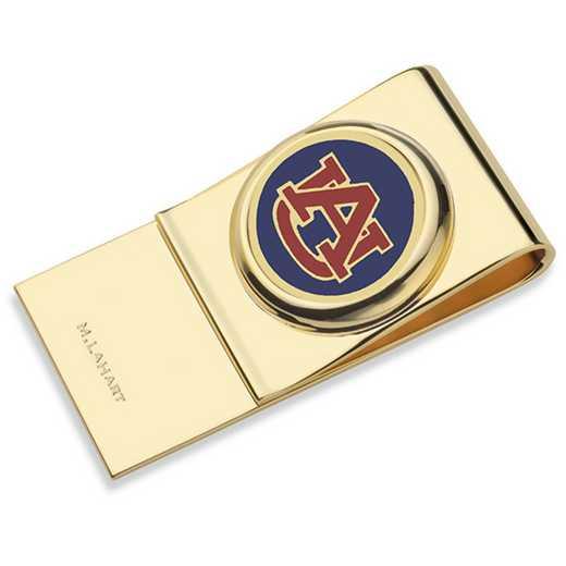615789968726: Auburn University Enamel Money Clip