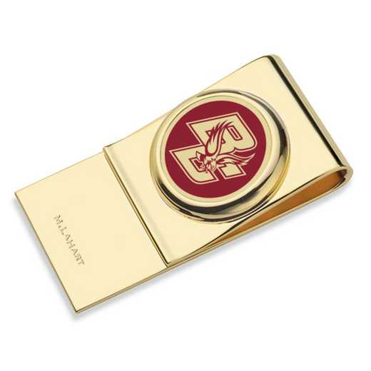 615789055334: Boston College Enamel Money Clip