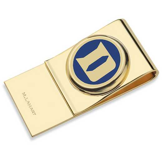 615789878261: Duke University Enamel Money Clip