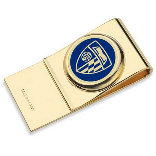 615789490050: Johns Hopkins University Enamel Money Clip