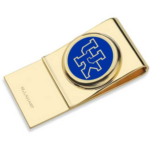 615789625360: University of Kentucky Enamel Money Clip
