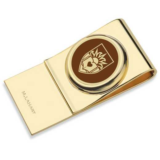 615789431558: Lehigh University Enamel Money Clip