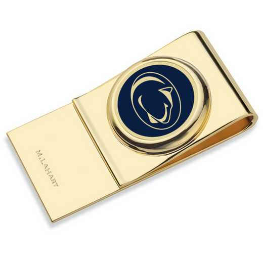 615789399049: Penn State Enamel Money Clip