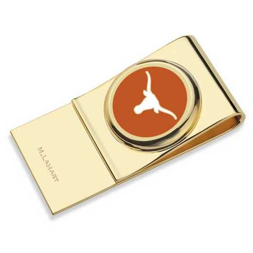 615789072874: University of Texas Enamel Money Clip