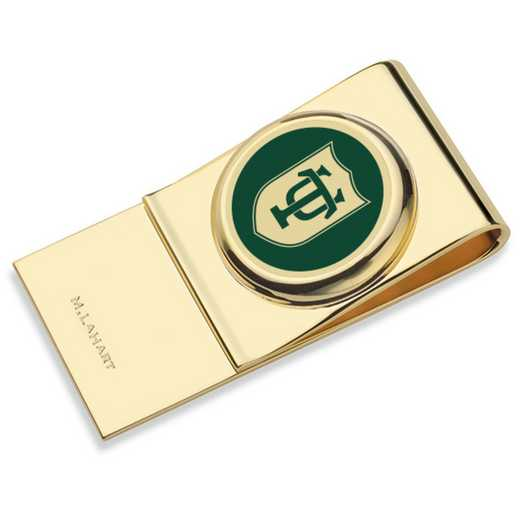 615789982487: Tulane University Enamel Money Clip