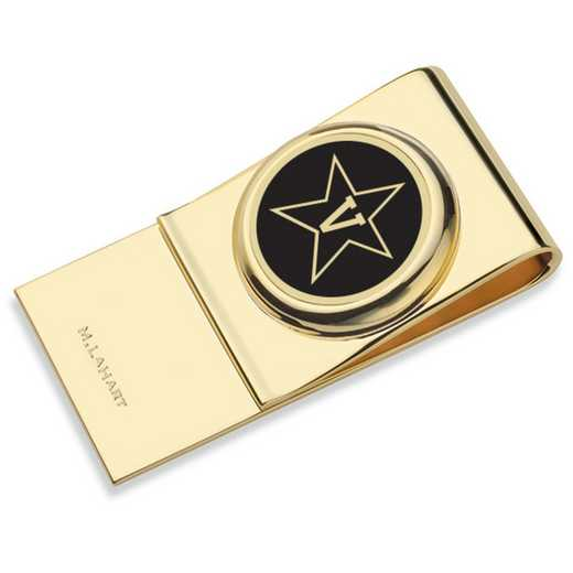 615789930457: Vanderbilt University Enamel Money Clip