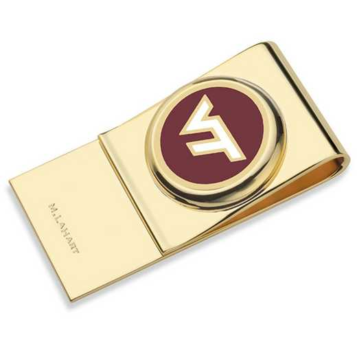 615789616061: Virginia Tech Enamel Money Clip