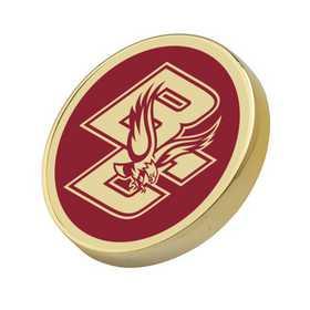 615789044765: Boston College Enamel Lapel Pin