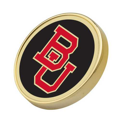 615789966692: Boston University Enamel Lapel Pin