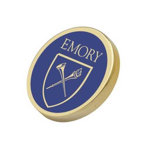 615789515951: Emory Lapel Pin
