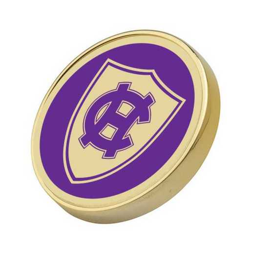 615789272274: Holy Cross Enamel Lapel Pin