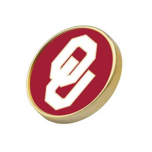 615789237488: Oklahoma Lapel Pin