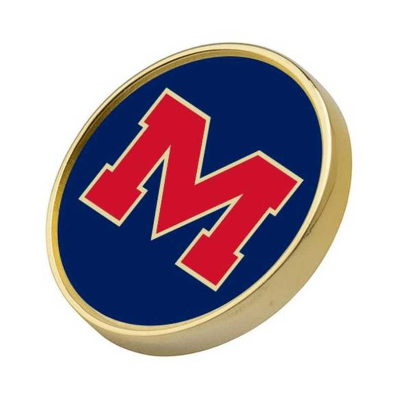 615789834595: Ole Miss Lapel Pin