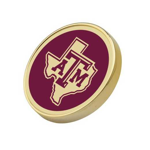 615789264835: Texas A&M University Lapel Pin